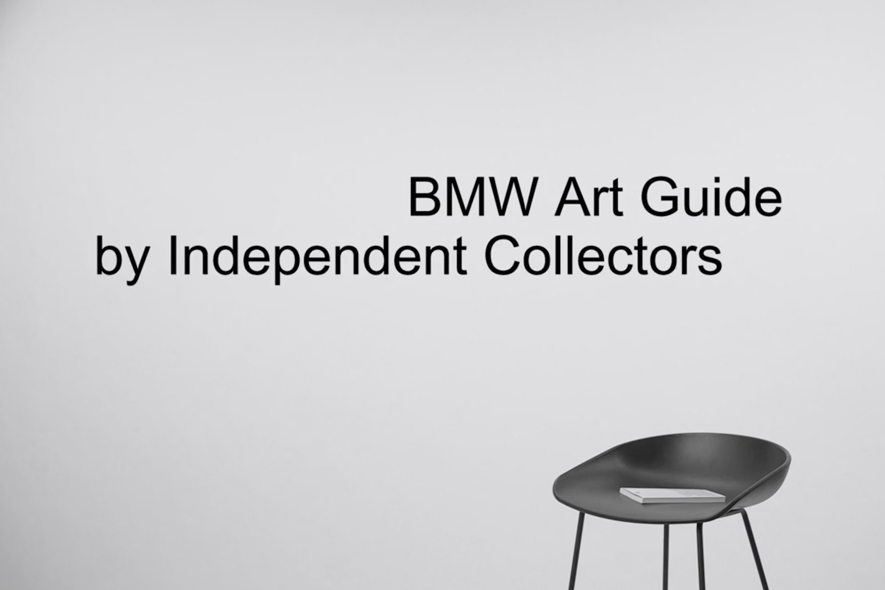 Stegmeyer Fischer Creative Studio - BMW Art Guide Film